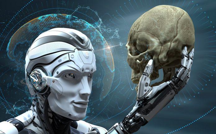 AI and skull