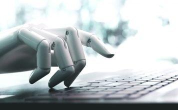 Robot che scrive