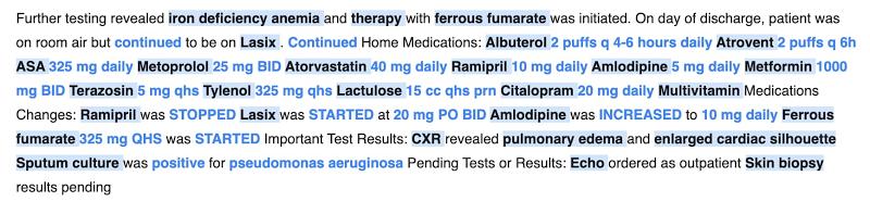 Google Health NLP API
