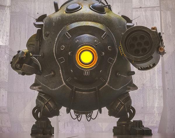 Robot mitragliatore