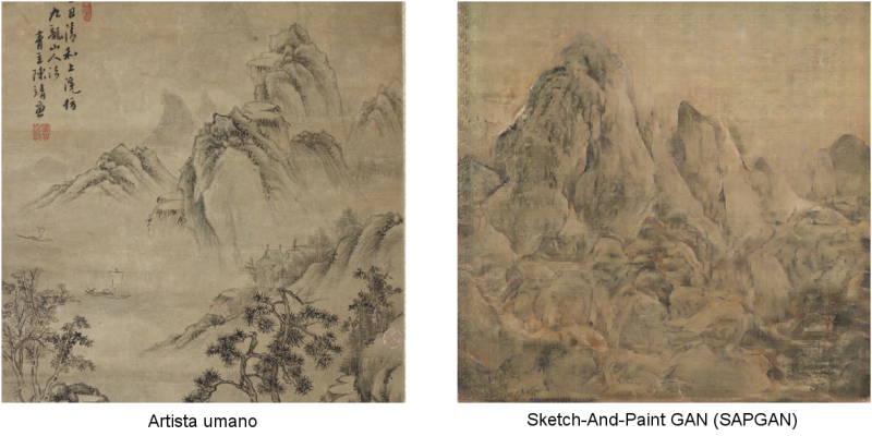 Sketch-And-Paint GAN (SAPGAN)