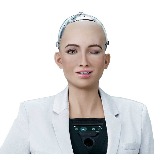 Robot Sophia di Hanson Robotics