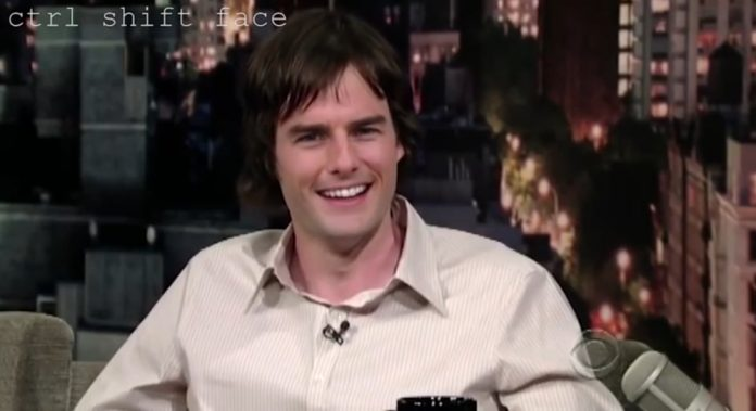 Tom Cruise su Bill Hader (deepfake)