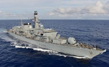 HMS Lancaster. Photo by Jay Allen/MOD
