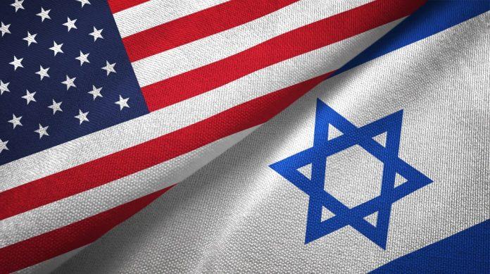 Bandiere USA Israele